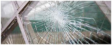 Thamesmead Smashed Glass